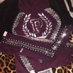PINK Bling Anorak & Matching Track Pant